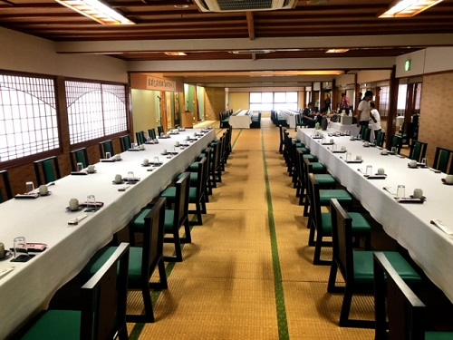 琉球泡盛倶楽部主催『2018古酒の宴』会場の料亭那覇
