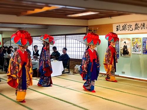 琉球泡盛倶楽部主催『2018古酒の宴』料亭那覇の琉球舞踊
