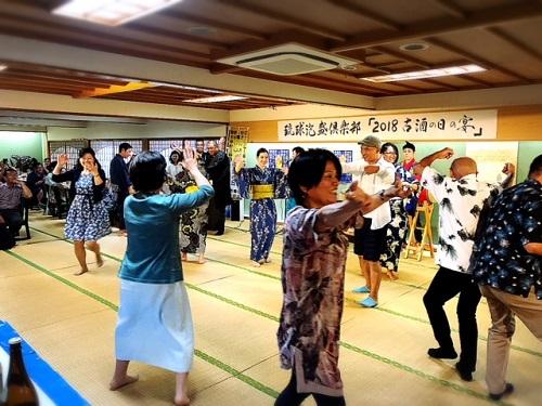 琉球泡盛倶楽部主催『2018古酒の宴』のカチャーシー