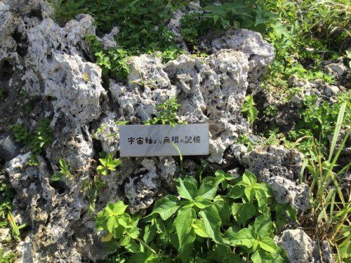 沖縄南部ドライブの穴場絶景スポット「知念岬公園」のモニュメント文字