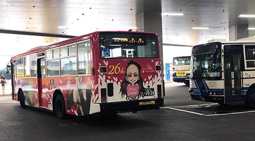 新那覇バスターミナルでバス見学も楽しい!那覇OPAで買い物もできます。