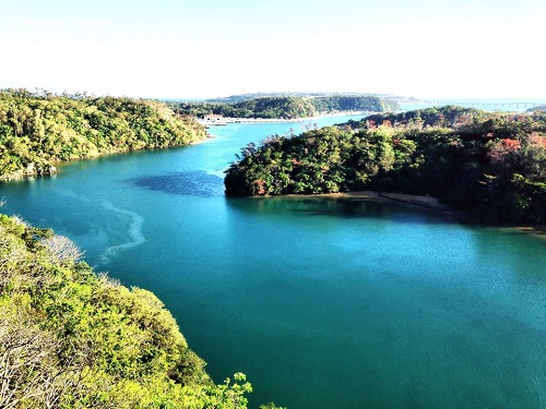 沖縄で絶景の穴場を独り占めにするなら嵐山展望台