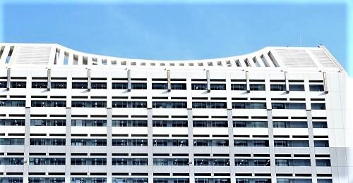 沖縄の個性的でカッコいい巨大な建築物5選沖縄県庁の屋根