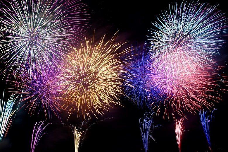 沖縄の秋祭り2019宜野座祭り花火