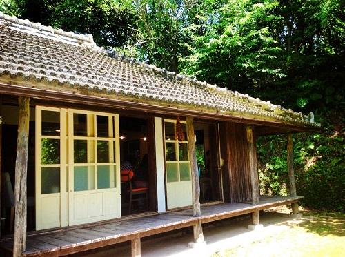 森カフェは沖縄の自然いっぱい、カフェハコニワで癒されたい
