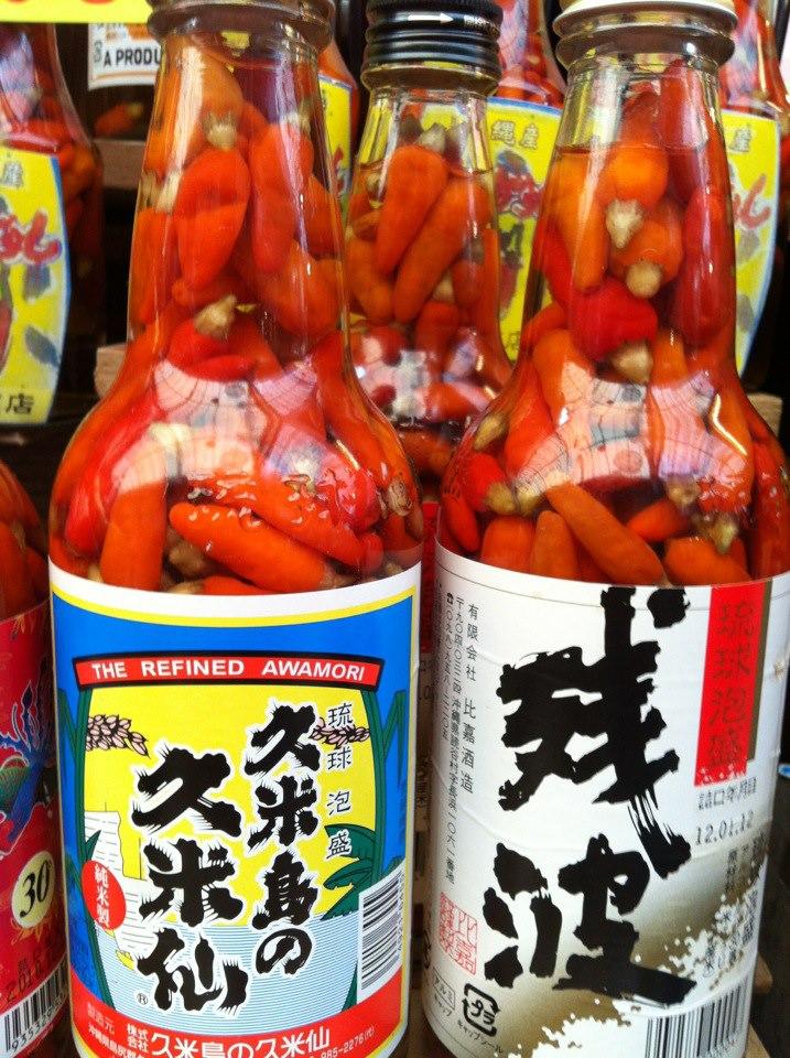 沖縄野菜を家庭菜園で育てて、泡盛につけるコーレーグース