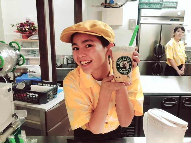 琉球王国市場プレオープン、抹茶ラテインスタサービス