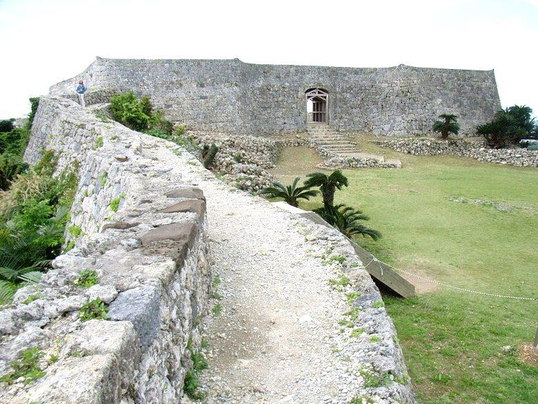 世界遺産の中城城跡