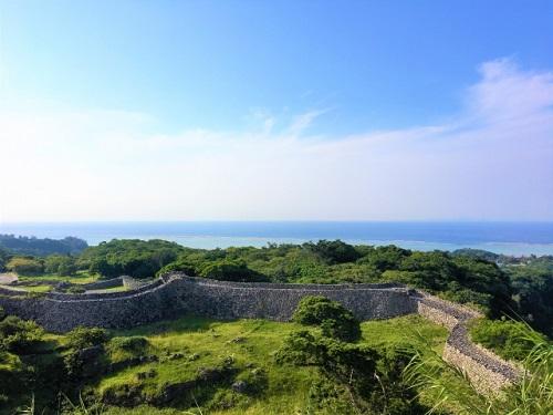 沖縄世界遺産巡りで桜の季節に行きたい今帰仁城跡
