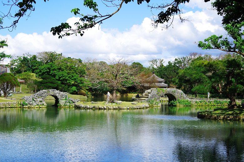 識名園は世界遺産で、琉球王国の迎賓館のようなもの
