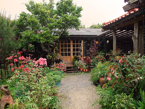 森カフェは沖縄の自然いっぱい、沖縄本島本部町農芸茶屋四季の彩で癒されたい
