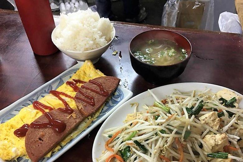 沖縄で味噌汁ならココ!名護のおススメひがし食堂のたまごやき
