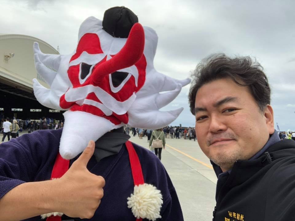 那覇基地「美ら島エアーフェスタ 2018」2日目關さん