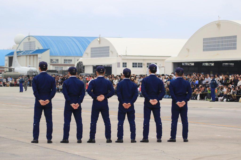 那覇基地「美ら島エアーフェスタ 2018」2日目ブルーインパルス