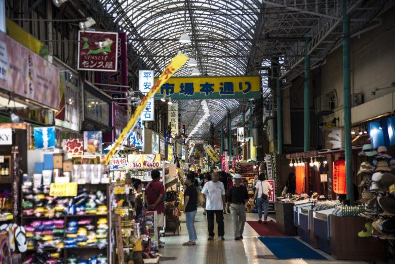 牧志公設市場で見つけた穴場飲食店は市場本通りのど真ん中「味の店 ぼんぼん