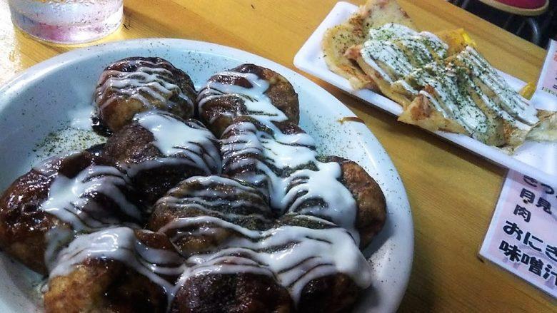 【名護・お好み焼】ひんぷんガジュマルのすぐそば関西風「味ノ坊」たこ焼きとイカ焼き