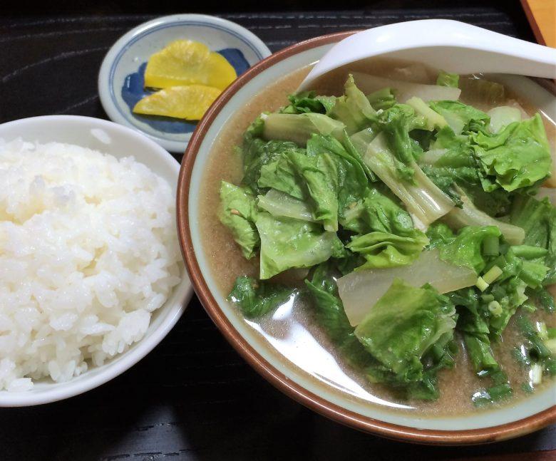 沖縄で味噌汁ならココ!名護のおススメひがし食堂