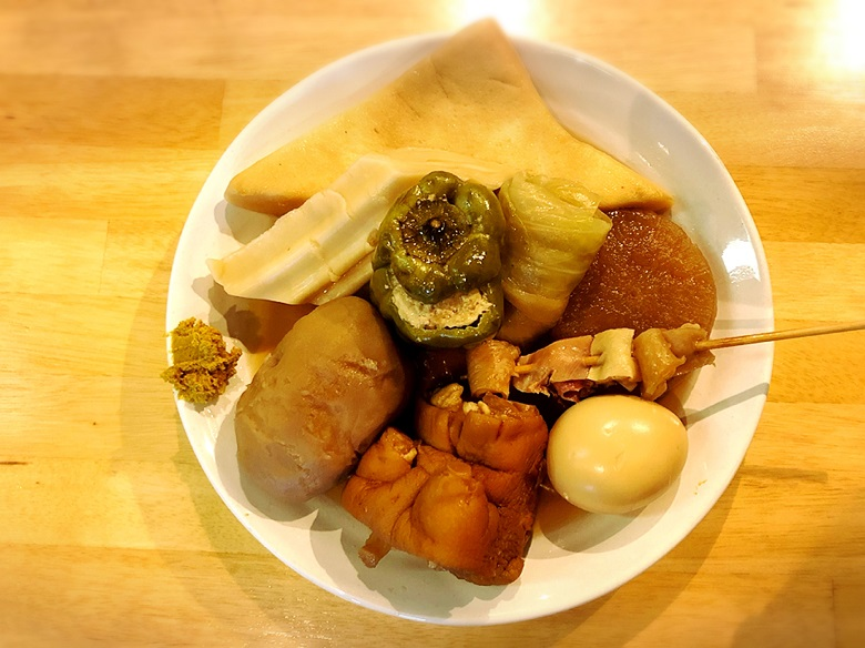 【那覇・立ち飲み】沖縄おでんはおふくろの味!「酔処 玉川」