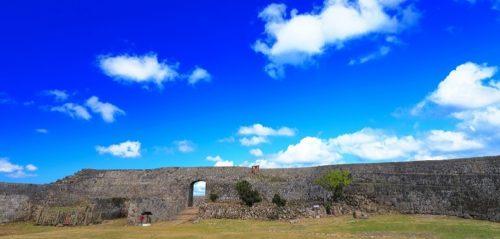 世界遺産の中城城跡で「わかてだ」を見てエネルギーチャージしませんか?