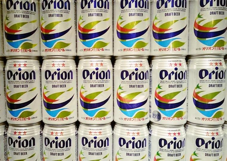 沖縄では絶対オリオンビール