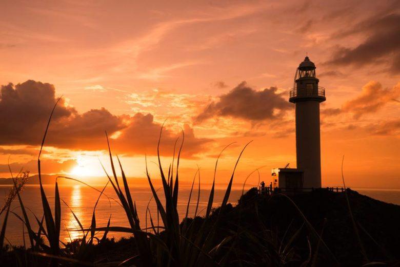 石垣島をドライブで巡った夕日の御願崎