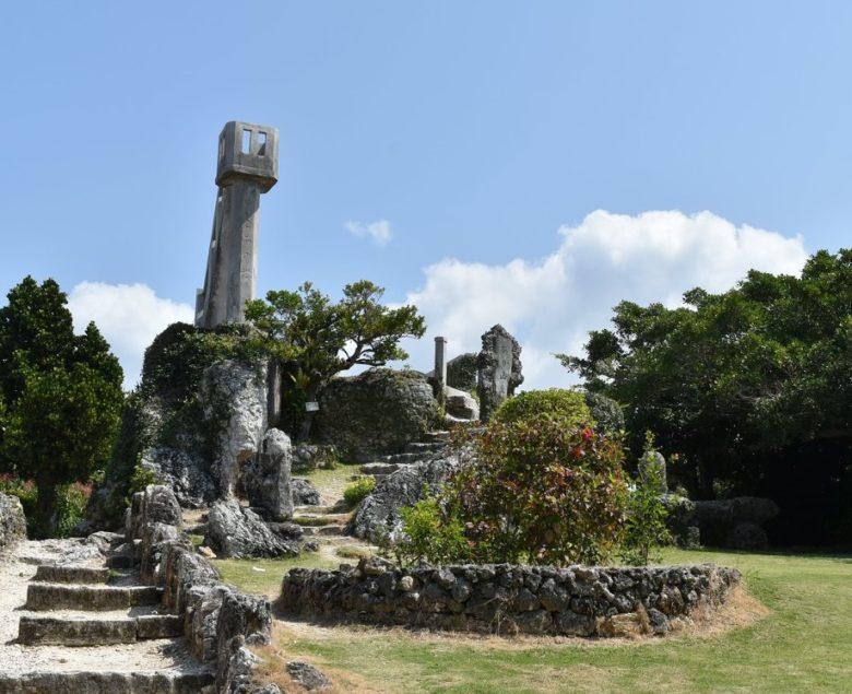竹富島のポストなごみの塔?!「あかやま展望台」は最高です!