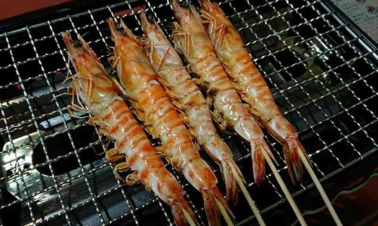 久米島漁協直営食堂で車エビ