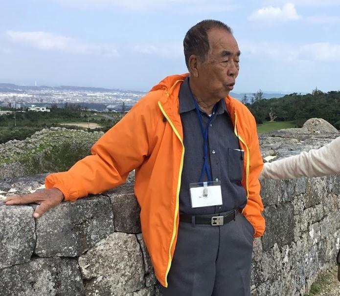 中城城跡のボランティアガイド