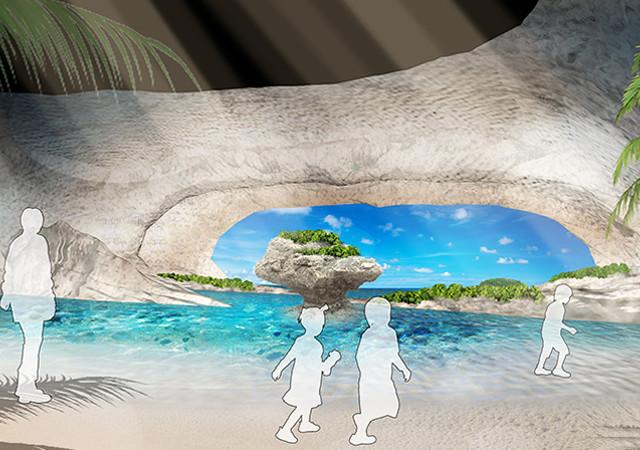 沖縄に2つ目の水族館『DMMかりゆし水族館』、リアルバーチャル体験