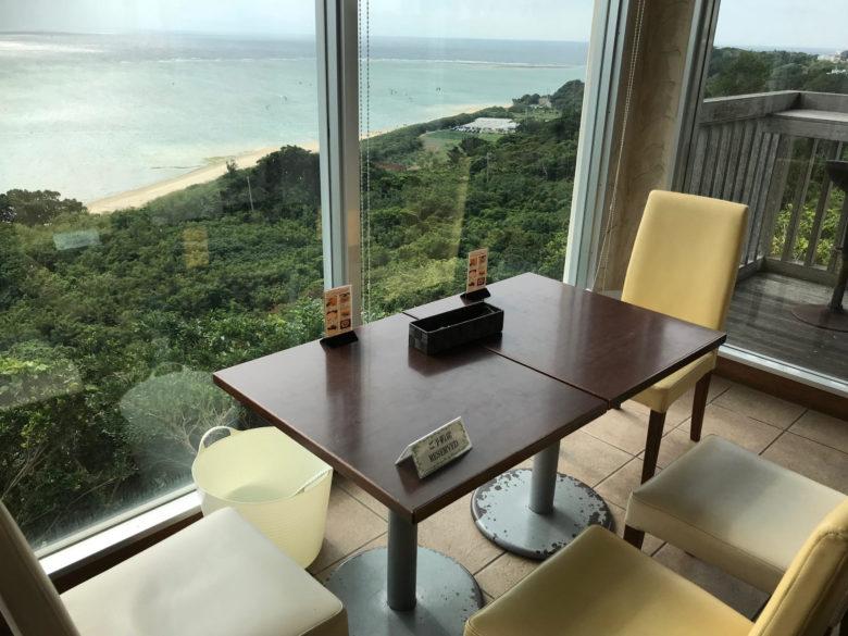海が見えるカフェ、Caféやぶさちのまわりは琉球開闢の聖地