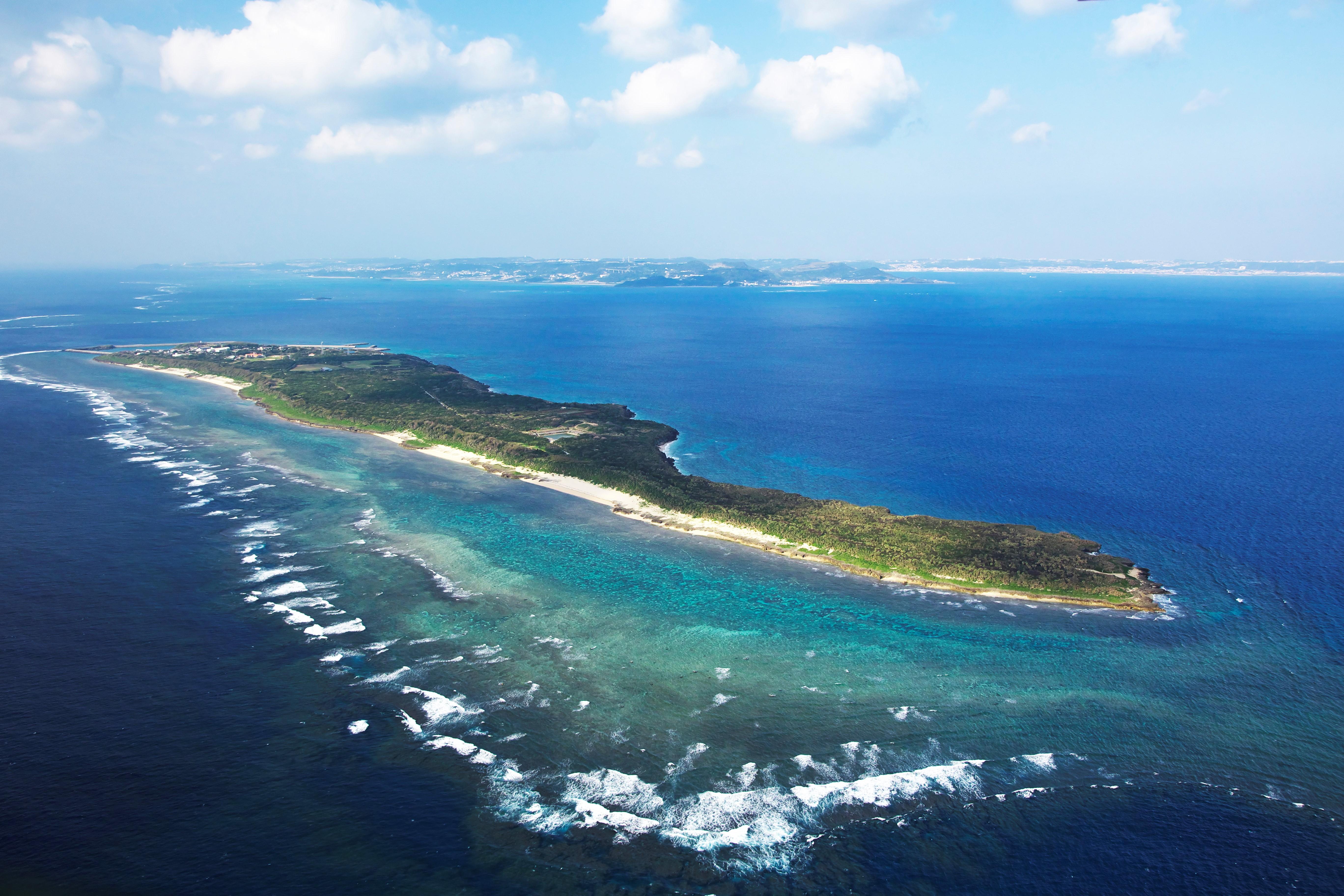 神の島「久高島」をレンタサイクルで一周してみた!