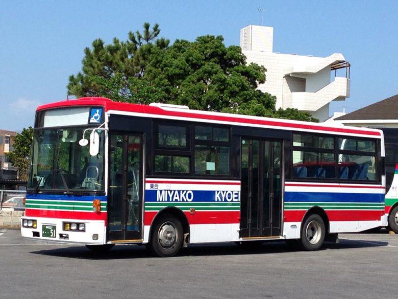 宮古下地島空港から路線バス