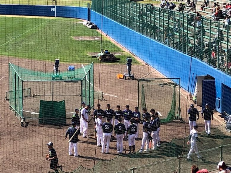 プロ野球沖縄キャンプイン!浦添市のヤクルトキャンプ編野手ミーティング