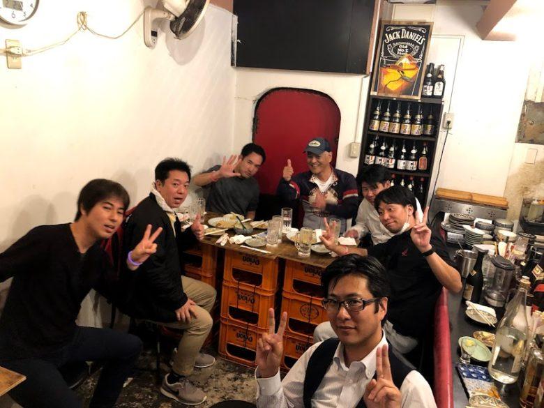 浦添・屋富祖、生まれ変わった新名所ではしご酒!地元の人達と乾杯!おきなわばんざい