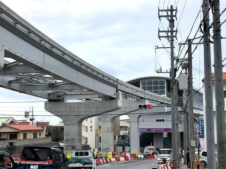 沖縄モノレール浦添前田駅