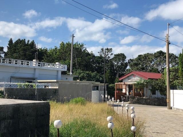 神の島「久高島」をレンタサイクルで簡易郵便局