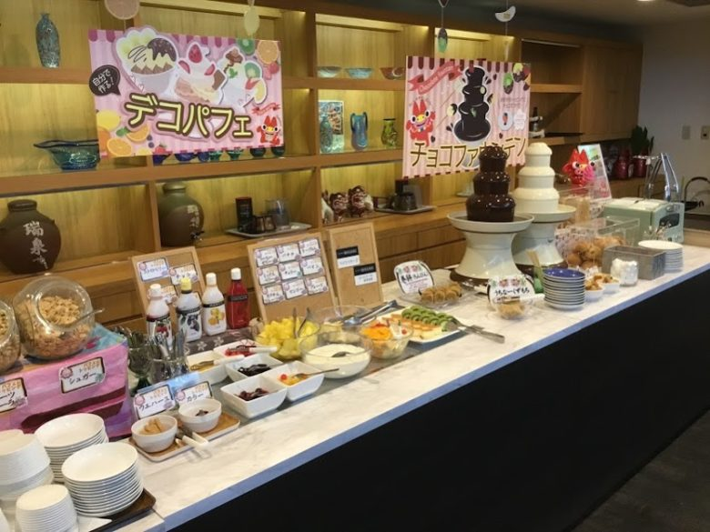 ホテルオーシャン那覇国際通りの朝食のデザート