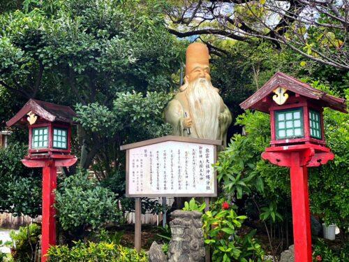 出雲大社沖縄分社は、縁結びの神様!ゆいレール古島駅からすぐ!