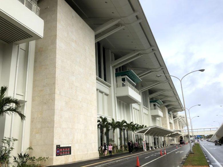那覇空港のLCCが入る連結ターミナル