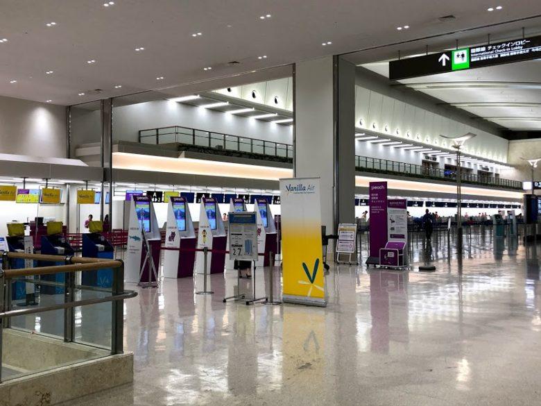 広くなった那覇空港連結ターミナル