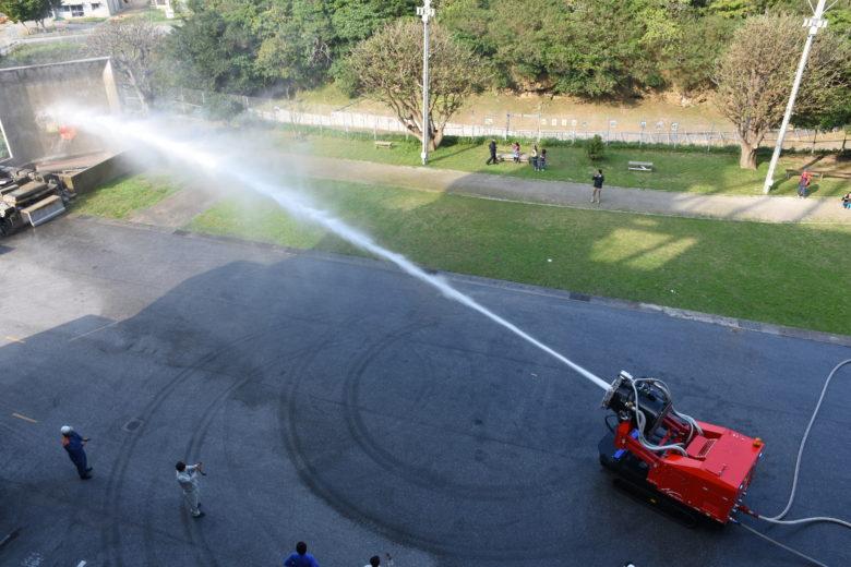那覇市消防局唯一の車「ハイパーミストブロアー車」がトミカに登場
