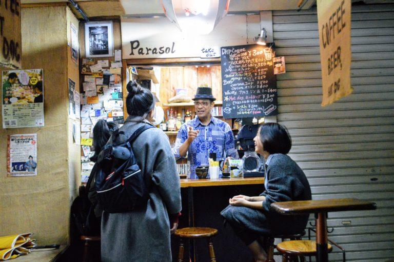 パラソルカフェは牧志公設市場近く