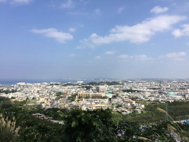 浦添城から見る景色