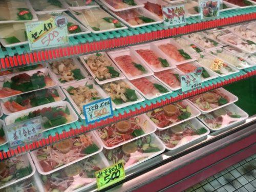 名護市羽地のローカル飲食ロードはハイケイと刺身、そして泡盛
