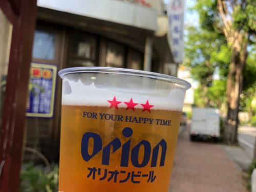 名護オリオンビールと直結!?「知名商店」はビール工場からすぐ