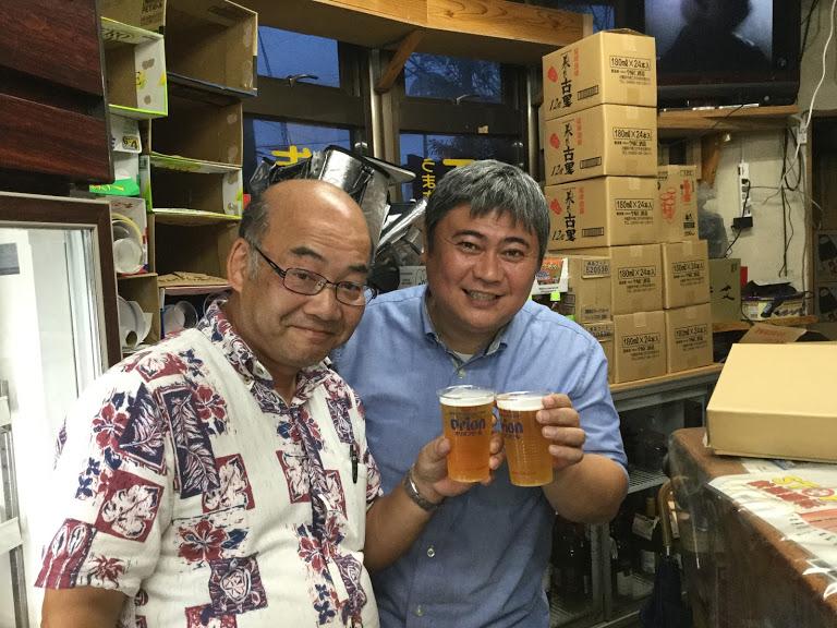 名護オリオンビールと直結!?「知名商店」は工場に一番近い