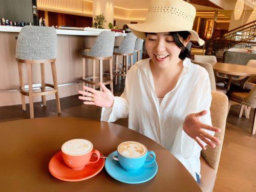 ノボテル沖縄那覇でしか味わえない最新ラテアート!!