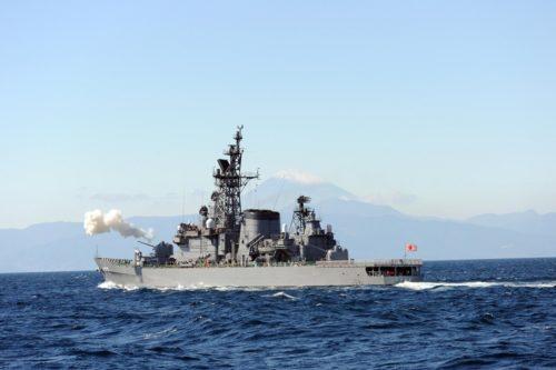 海上自衛隊「護衛艦しまかぜ」中城湾で2年ぶりの一般公開!