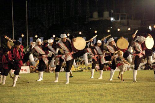 エイサー本場コザの「沖縄全島エイサーまつり&オリオンビアフェスト」