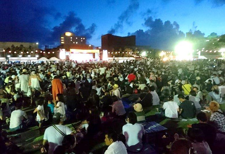 オリオンビアフェスタは全島エイサーと同時開催